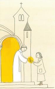 Apporter la communion