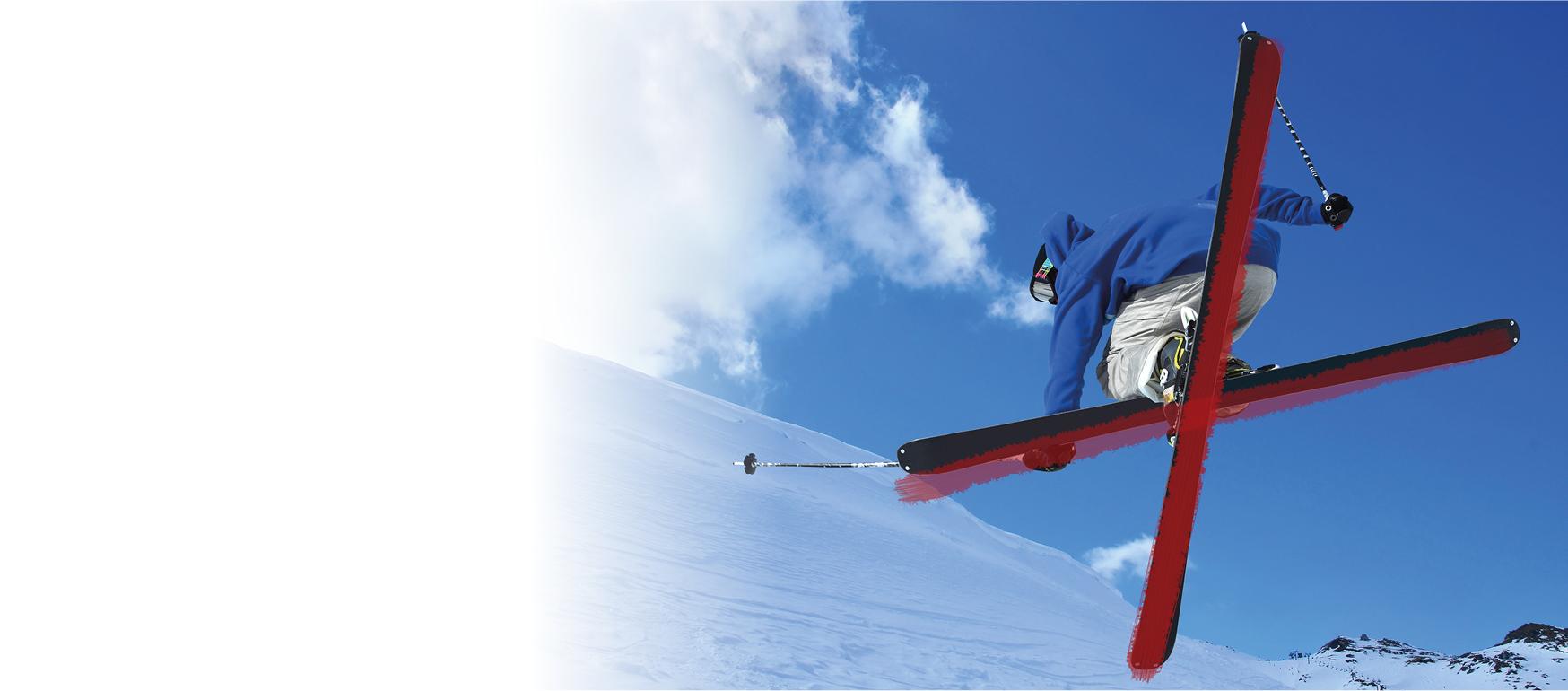 Bannière camp ski étudiants
